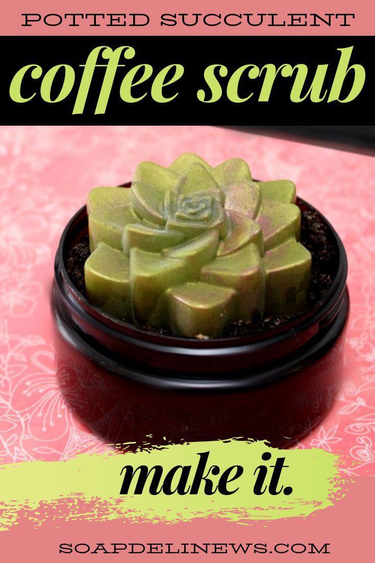 Coffee scrub recipe for natural summer skin care