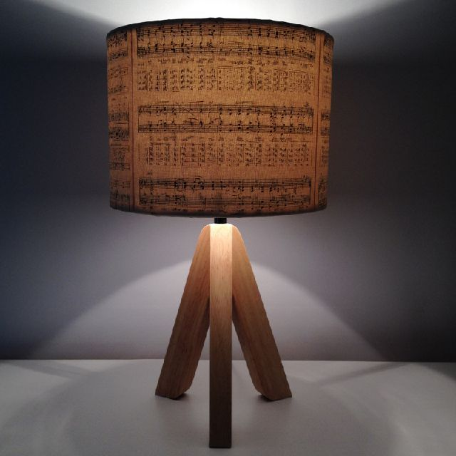 Music Memories & how to upcycle a lampshade with vintage sheet music
