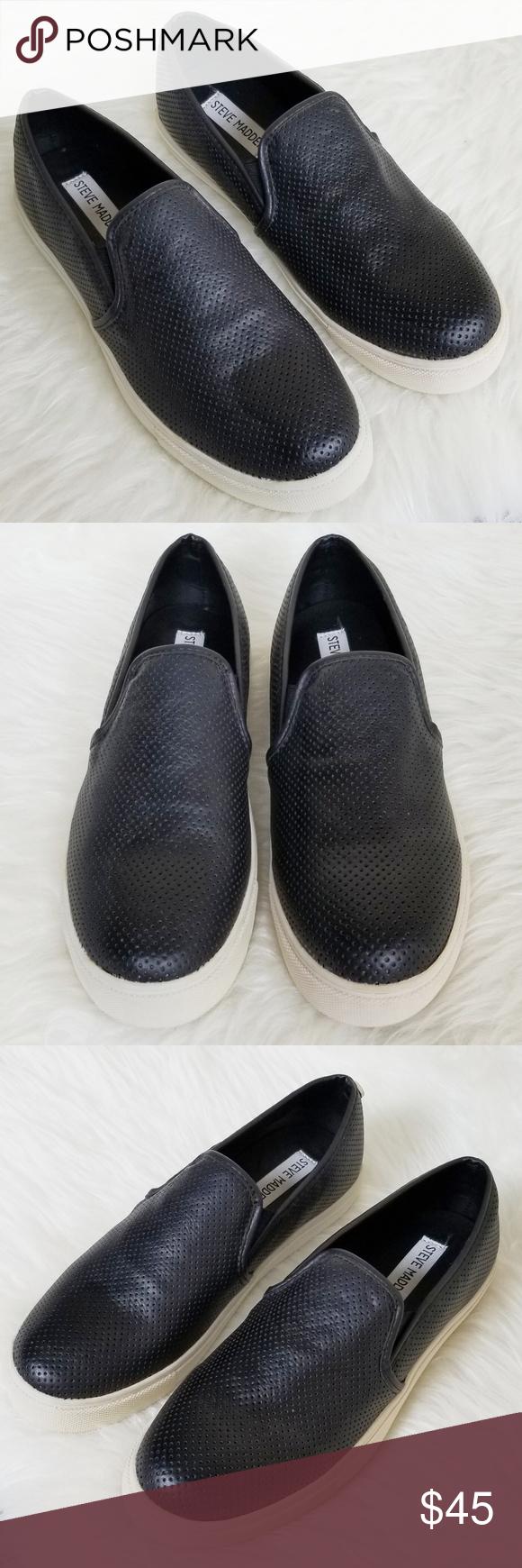 63a6d9feb74 Steve Madden • Everest Slip On Sneaker Loafer 7.5 Brand  Steve Madden  Details  Everest