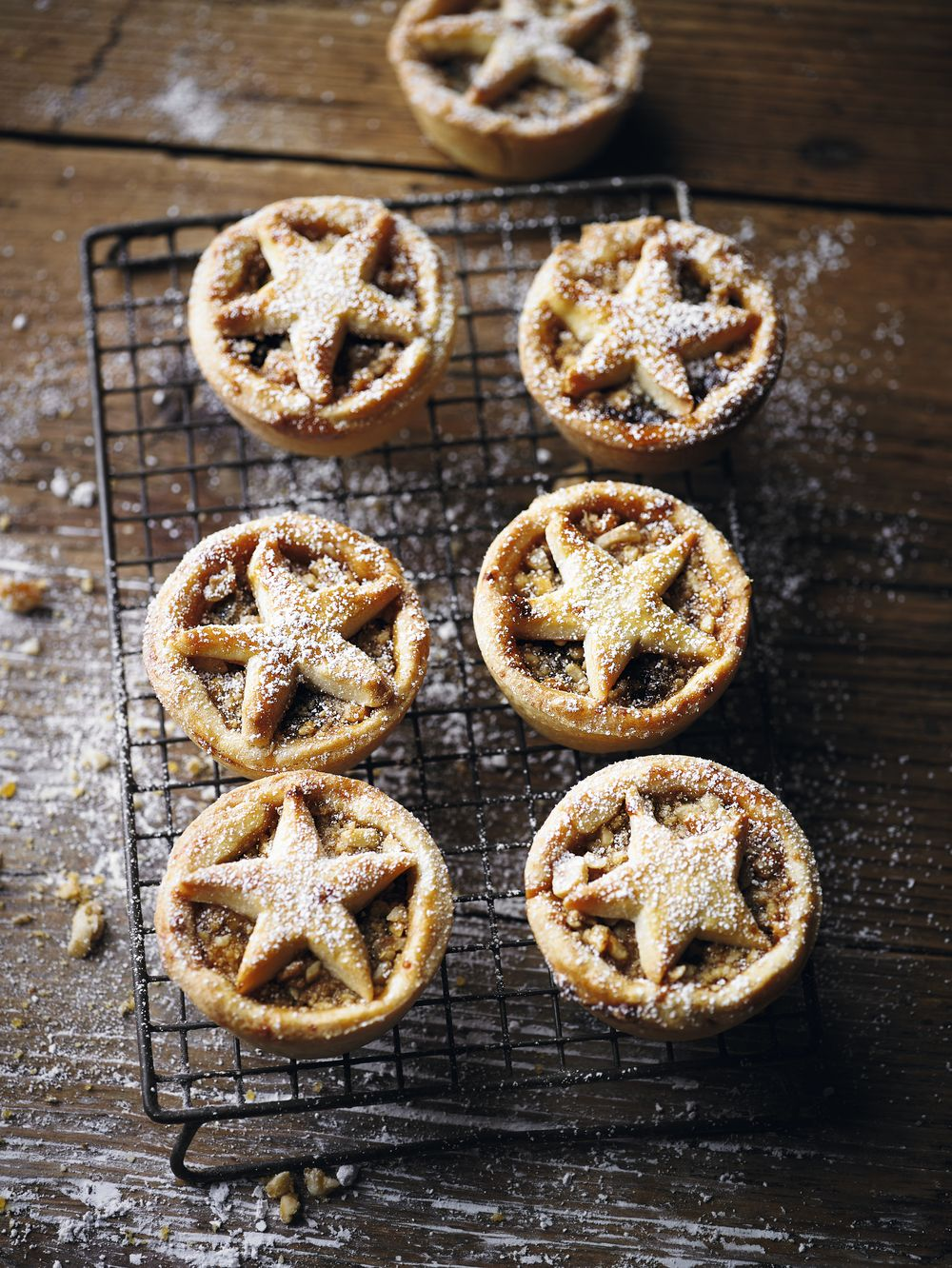 Nut-Crusted Mince Pies