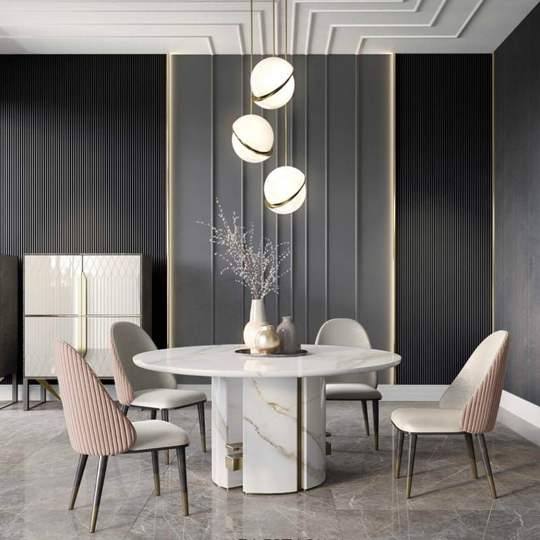 2 Colours For A Luxury Dining Room Insplosion Blog Luxury