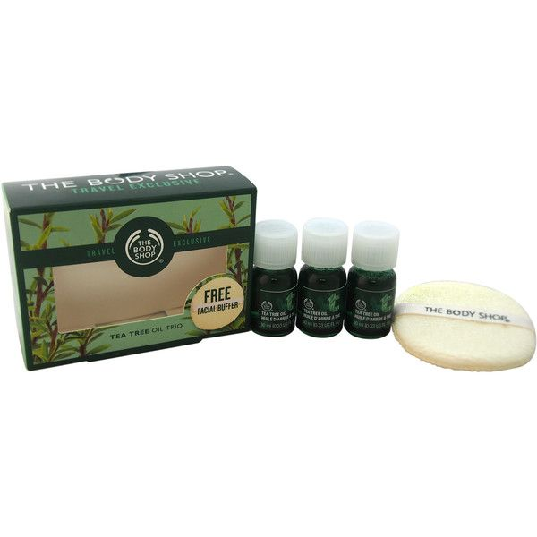 The Body Shop Tea Tree Oil Trio 4-piece Kit (£13) ❤ liked on Polyvore featuring the body shop skin care and the body shop