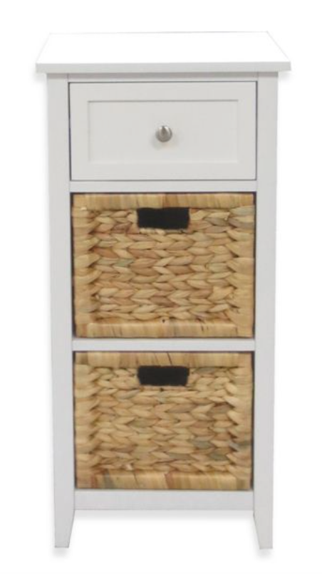 3 Drawers Bathroom Floor Cabinet In White Bed Bath Beyond Bathroom Floor Cabinets Bathroom Flooring Home Decor
