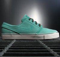 Nike Zoom Stefan Janoski Crystal Mint - $90