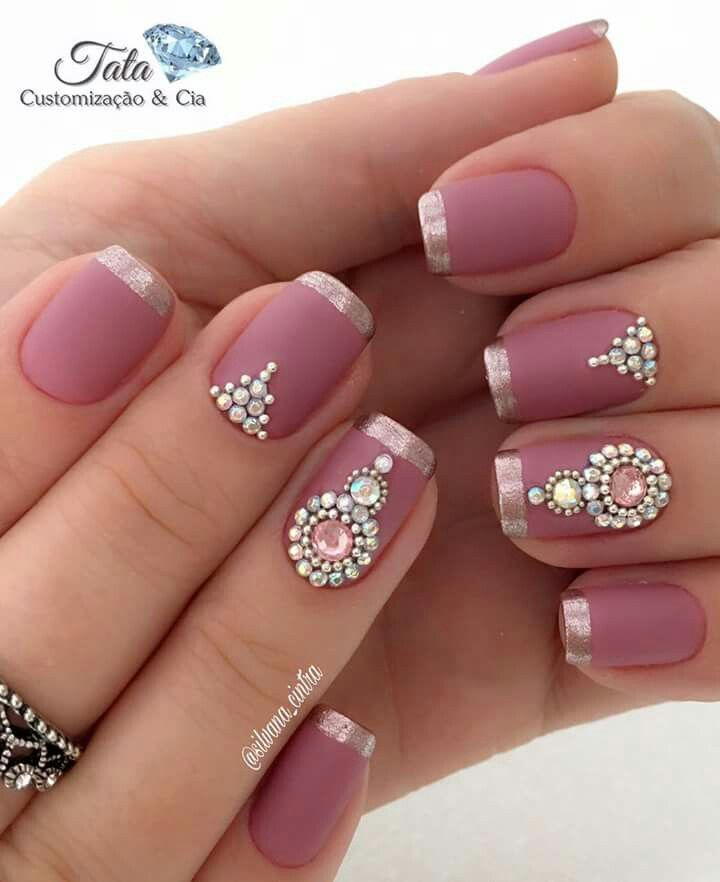 For more pins like this, follow me @ihaveaname Indian Nail Designs, Indian  Nail - For More Pins Like This, Follow Me @ihaveaname Nail Art