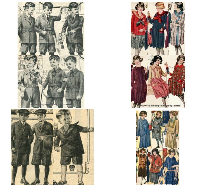 1920s Children s Fashion Part of Our Twenties Fashions Section 90