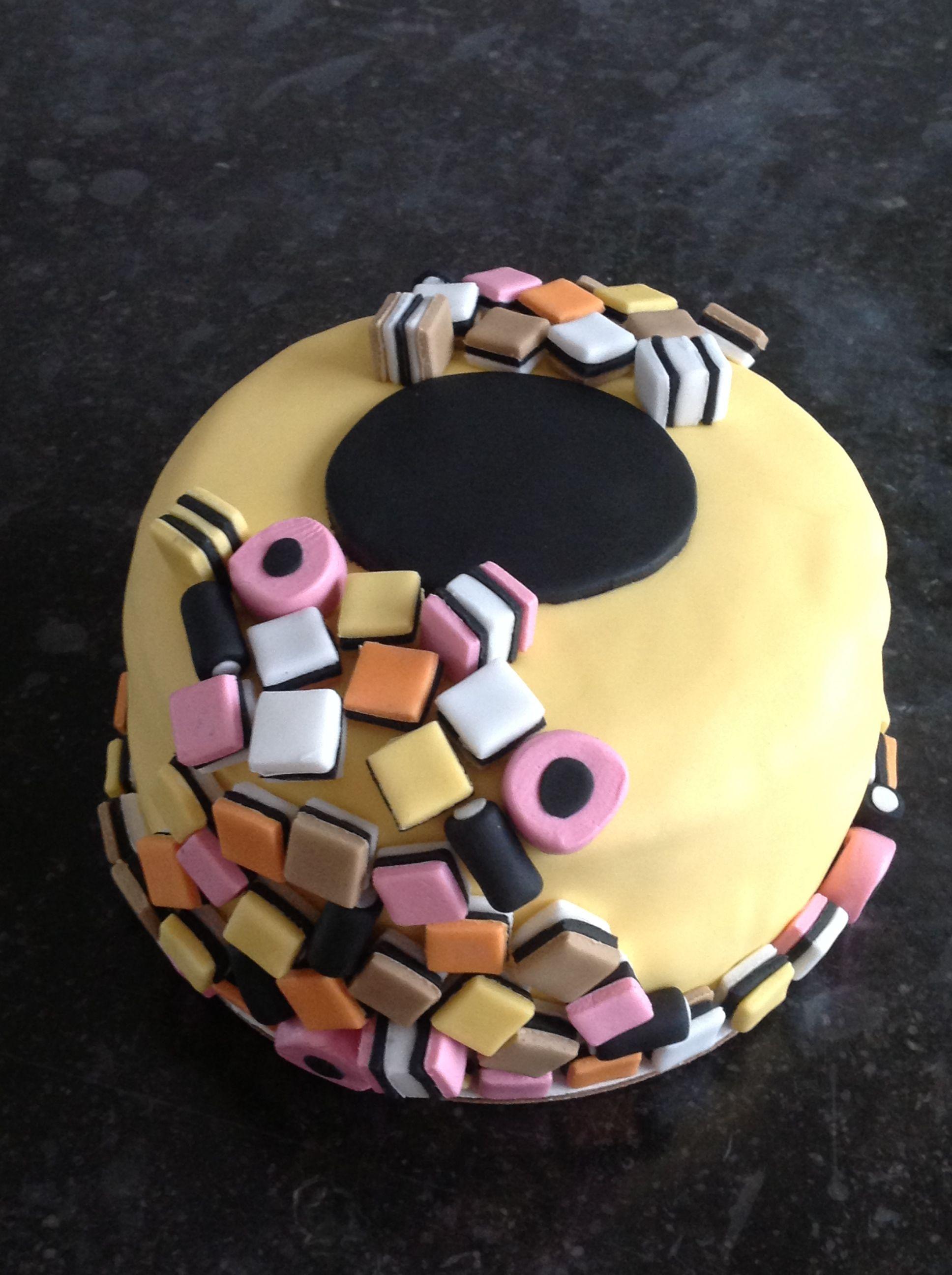 taart in engels Engelse drop taart, alles van fondant gemaakt | Cake Decorating  taart in engels