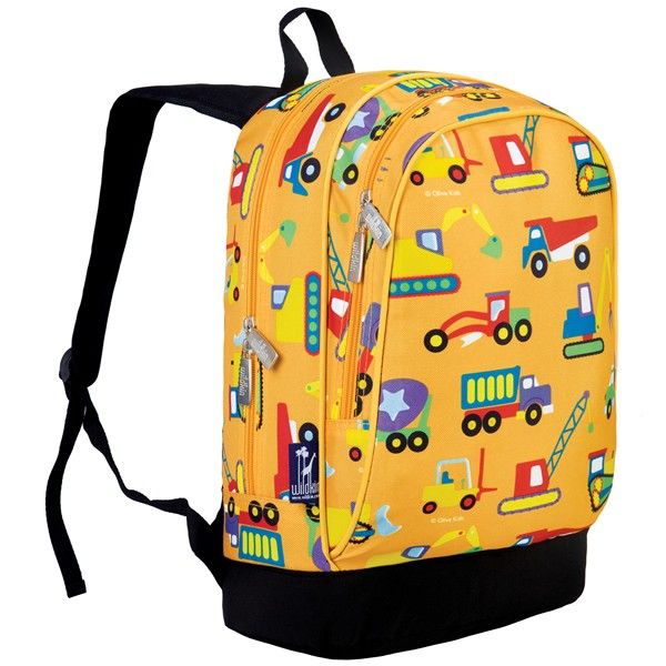 Kids Backpack – Construction | Сумки | Pinterest | Kids backpacks ...
