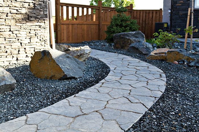 sierra grey flagstone pathway flagstone pathway on extraordinary garden stone pathway ideas to copy id=86694
