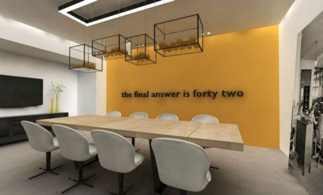 Gorgeous Modern Office Design Ideas Creative Marketing Agencies That Look To Move To New Off Office Interior Design Modern Office Interiors Meeting Room Design