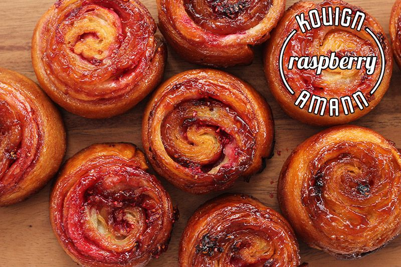 Raspberry Kouign Amann | The Sugar Hit