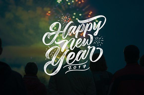 Happy New Year Lettering 67