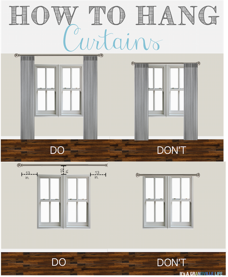 This Post Has So Many Great Tips On How To Hang Curtains Definitely Will Have Remember For My Home