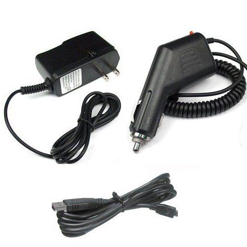 Garmin GPS Nuvi 1450LMT Accessory Bundle - Car Charger + Home Travel AC Charger + USB Data Cable + Free Stars Stripes Sili... $12.95