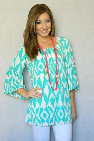 Headed to the Hamptons Tunic   Girly Girl Boutique