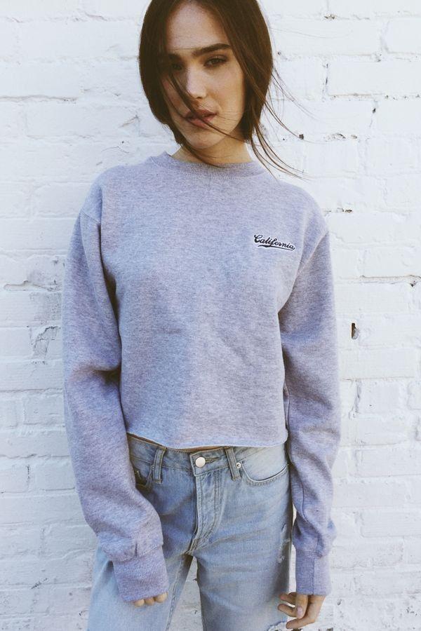 Brandy Melville Nancy California Embroidery Sweatshirt