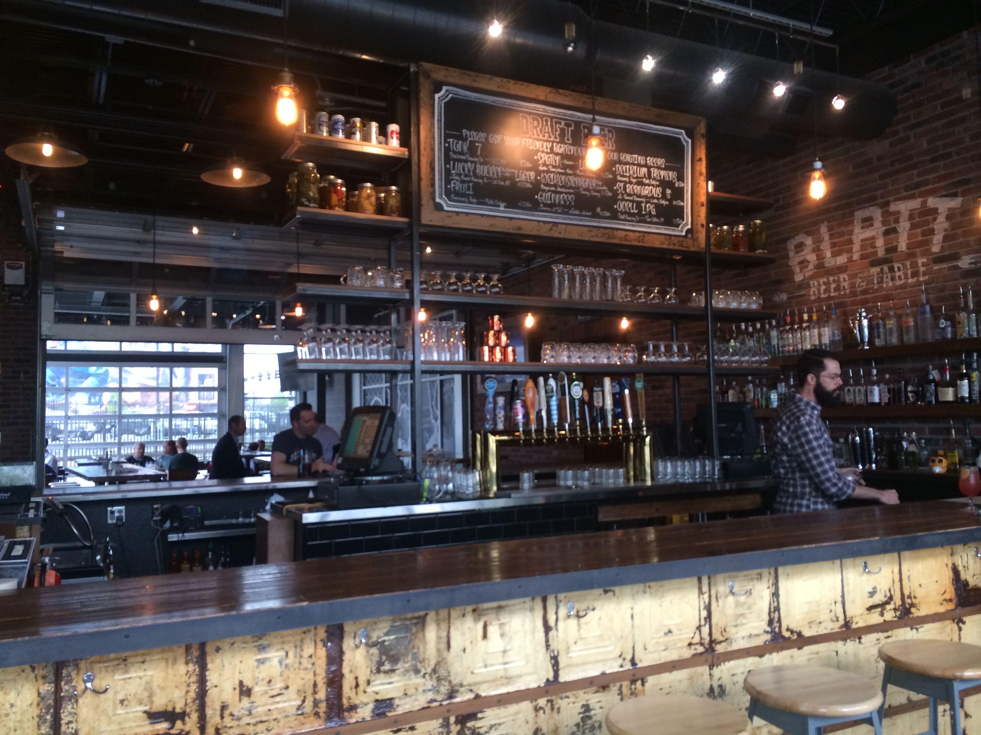 Omaha Food: Blatt Beer and Table  Beer table, Beer, Omaha