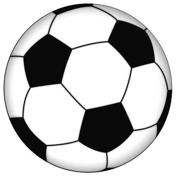 how to make soccer ball cupcake topper
