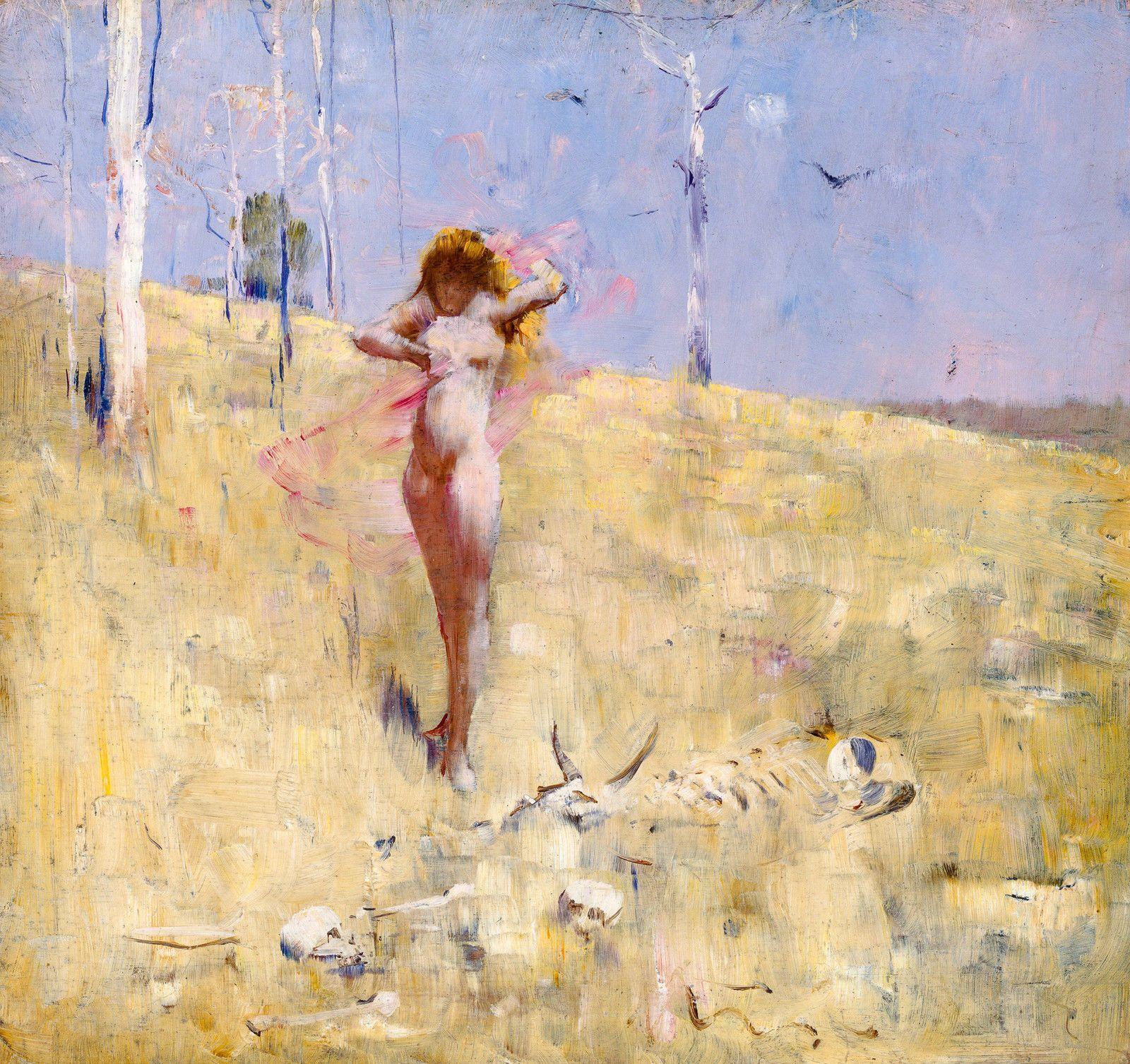 Arthur Streeton, The Spirit of the Drought 1895, Fade Proof HD Print or Canvas in Art, Prints   eBay