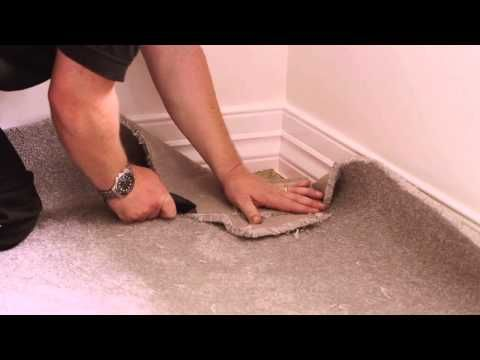 How To Install Carpet Dunlop Carpet Underlay Installation Guide Youtube Carpet Underlay Carpet Installation Carpet Repair