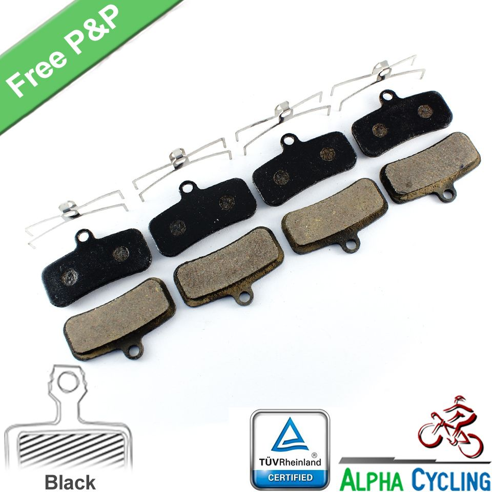 DiscoB Race 4 Pairs Red Insert Road Brake Pads for Shimano Dura-Ace Ultegra 105