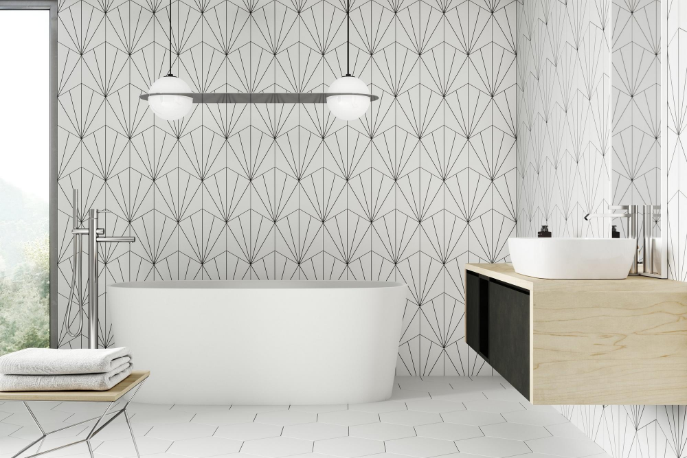 kavala white matte porcelain tile