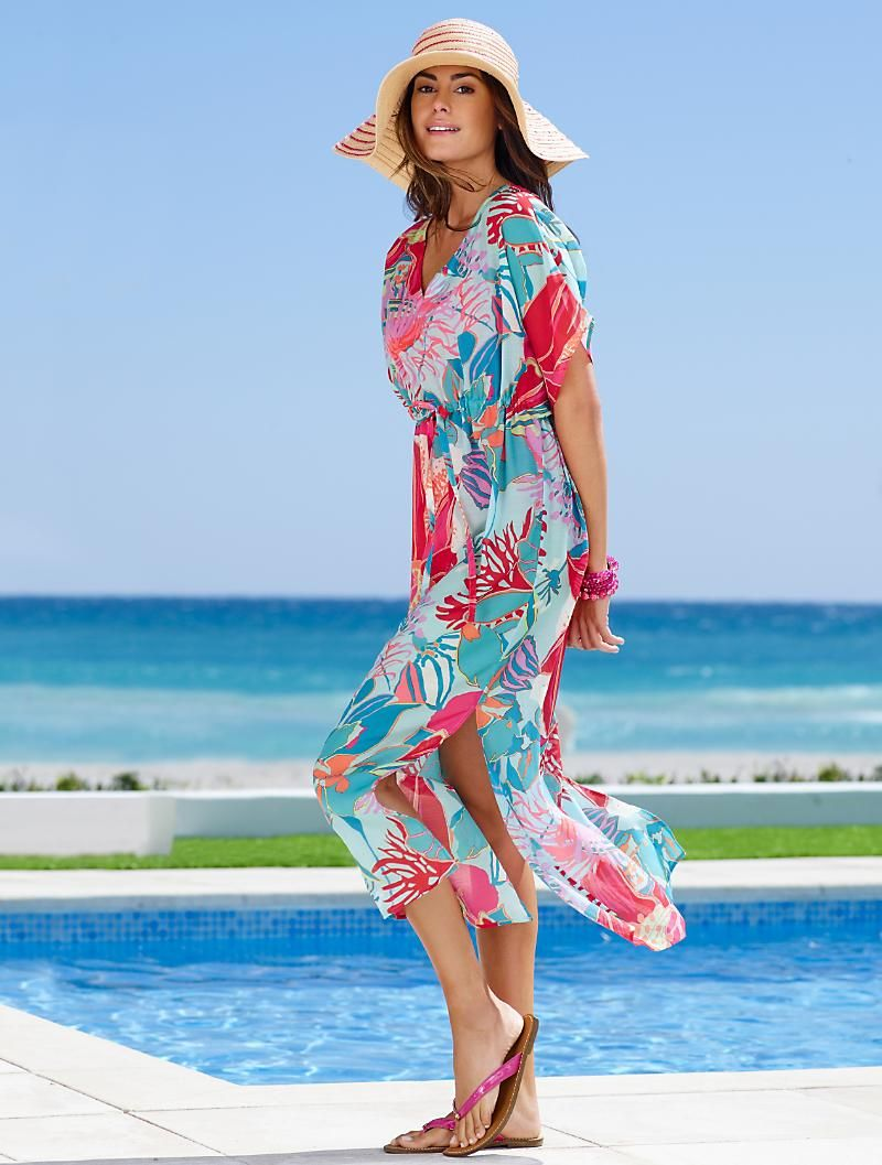 b3ad749b5cc10 Talbots - Island Floral Cover-Up | Swim | Misses | For chico's ...
