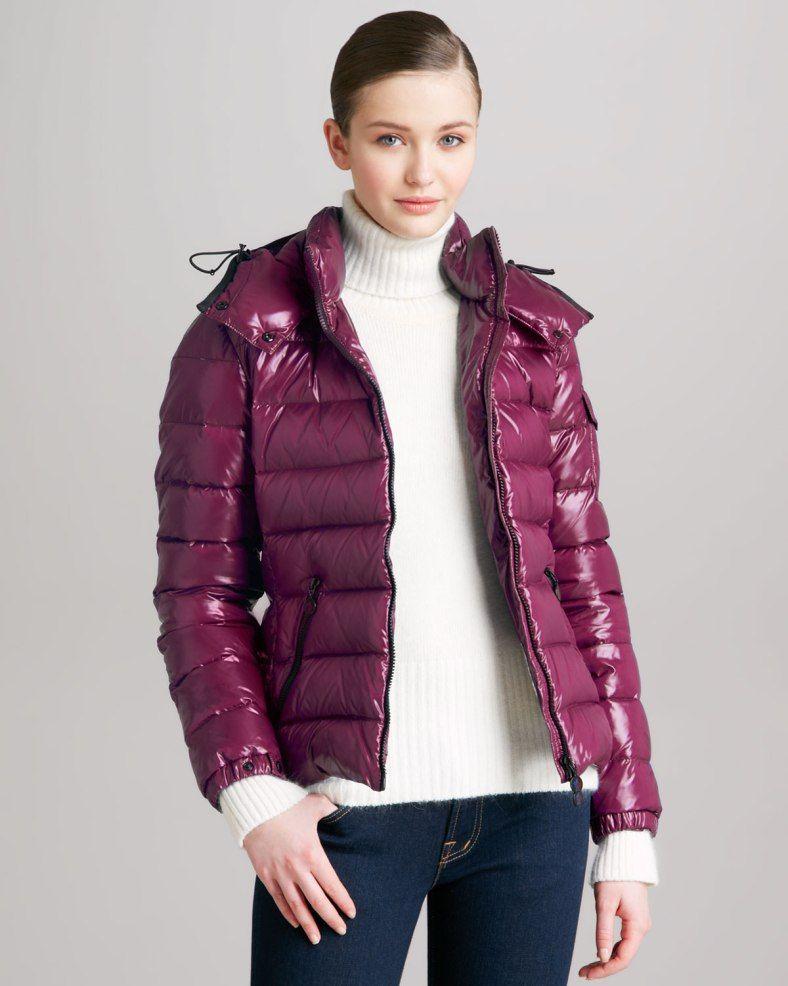 NMB27AG bz Schnee, Lila, Rosa, Moncler, Jacken Für Frauen, Winter-outfits 3f36e9050c