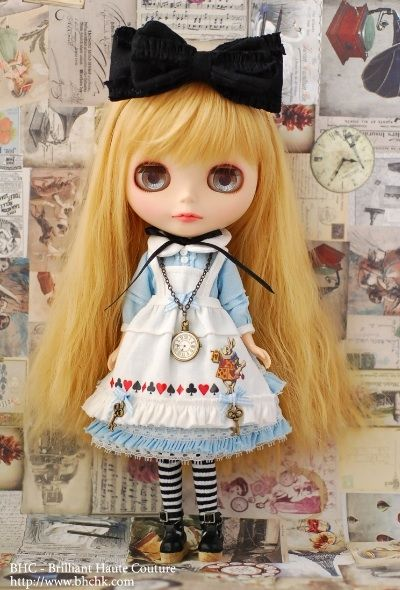 """My Alice"" dress set from BHC"