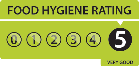 Stoneleigh Brerie Indian Restaurant Was Awarded A Food Hygiene Rating Of 5 Very Good