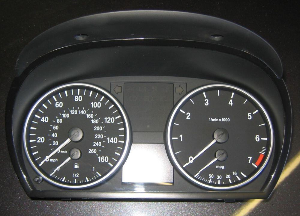BMW e90 e91 e92 e93 320i 3 Series X1 2007 N46 N43 Instrument