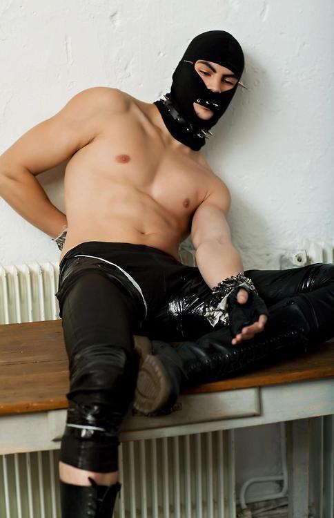 Sexy Masked Dude  Gay Fetish-8943