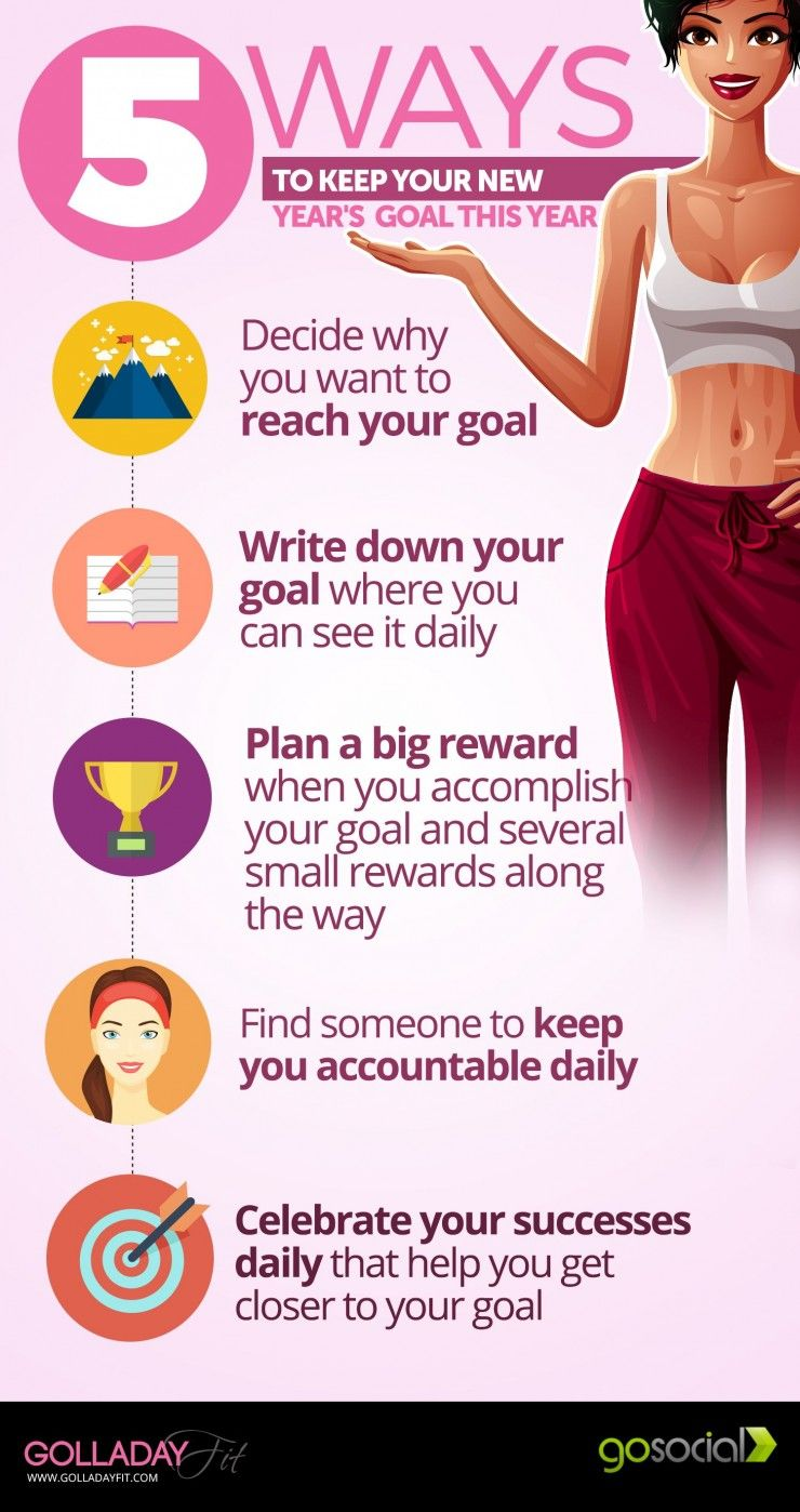 5 Ways To Keep Your New Years Goals This Year