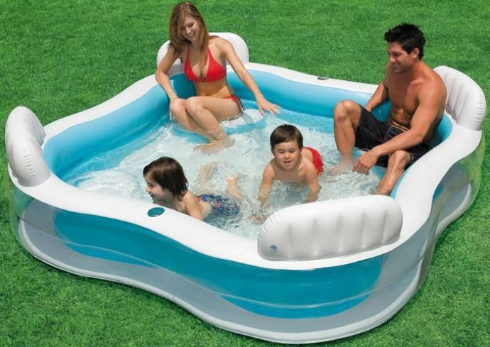 Intex Piscina Piscine Gonflable Family Bathtub Giant Inflatable