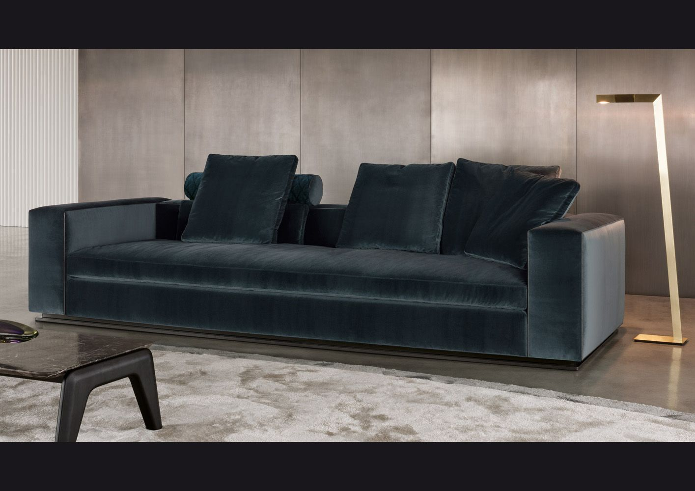 Blue Velvet by Minotti