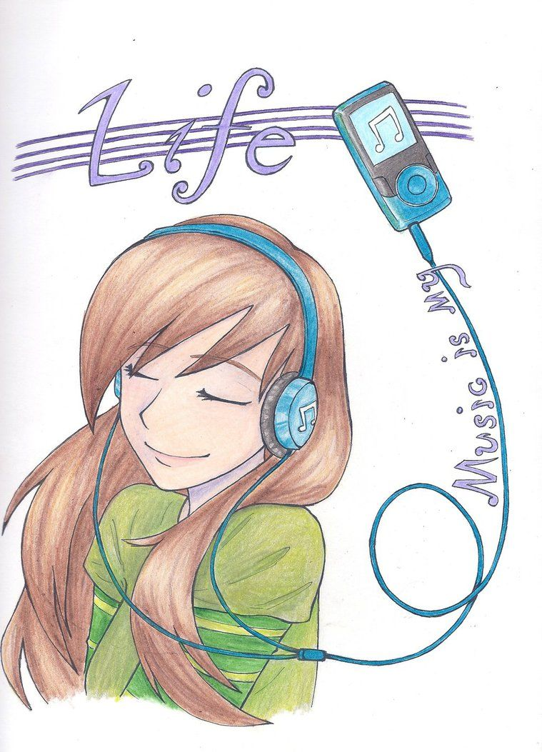 Music is my Life by LOZ-Elisrilianfan on deviantART