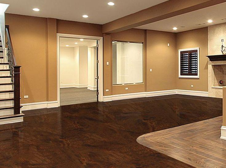 Rustoleum Rock Solid Floor Epoxy Galerie Erdbraun With Images Epoxy Floor Flooring Epoxy Floor Basement