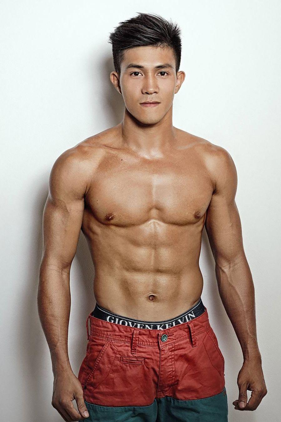 Asian Muscle Hunk  Beauty Of Asian Men  Pinterest -4971