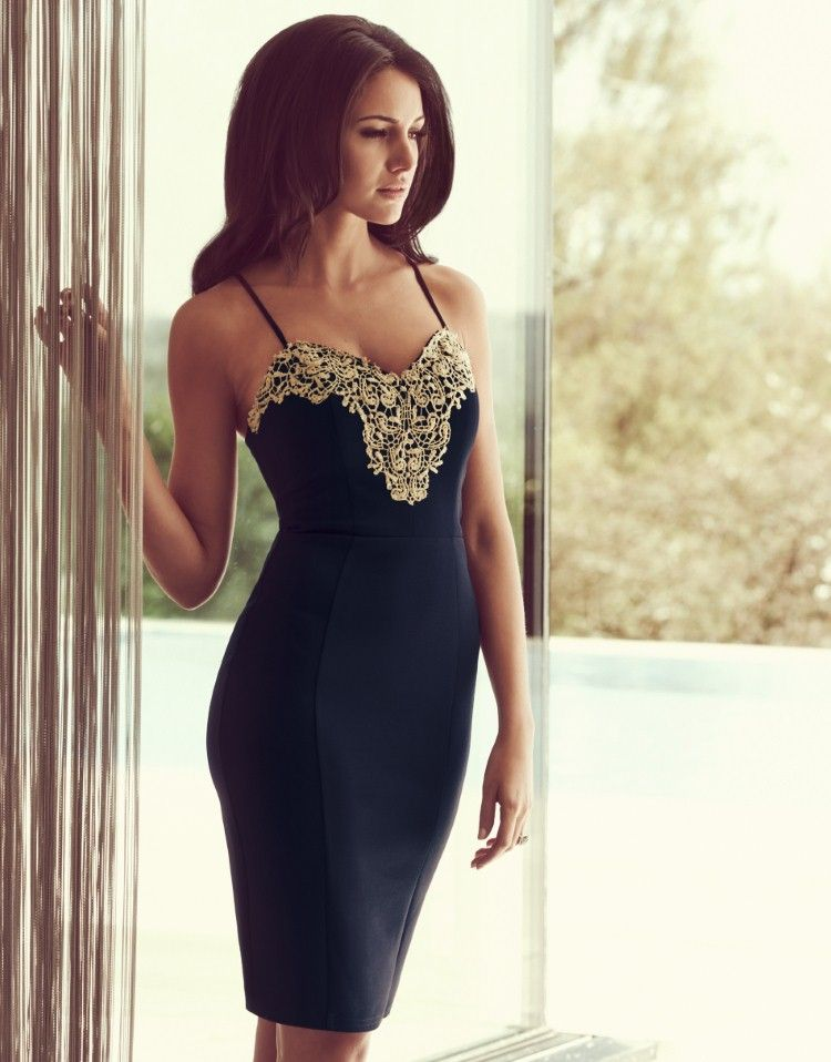 ffefccf9837de Michelle Keegan Lace Bust Lingerie Dress. Pure class | fashion in ...