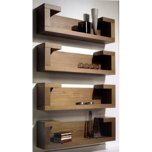 Repisas modernas buscar con google repisas de madera for Libros de muebles de madera