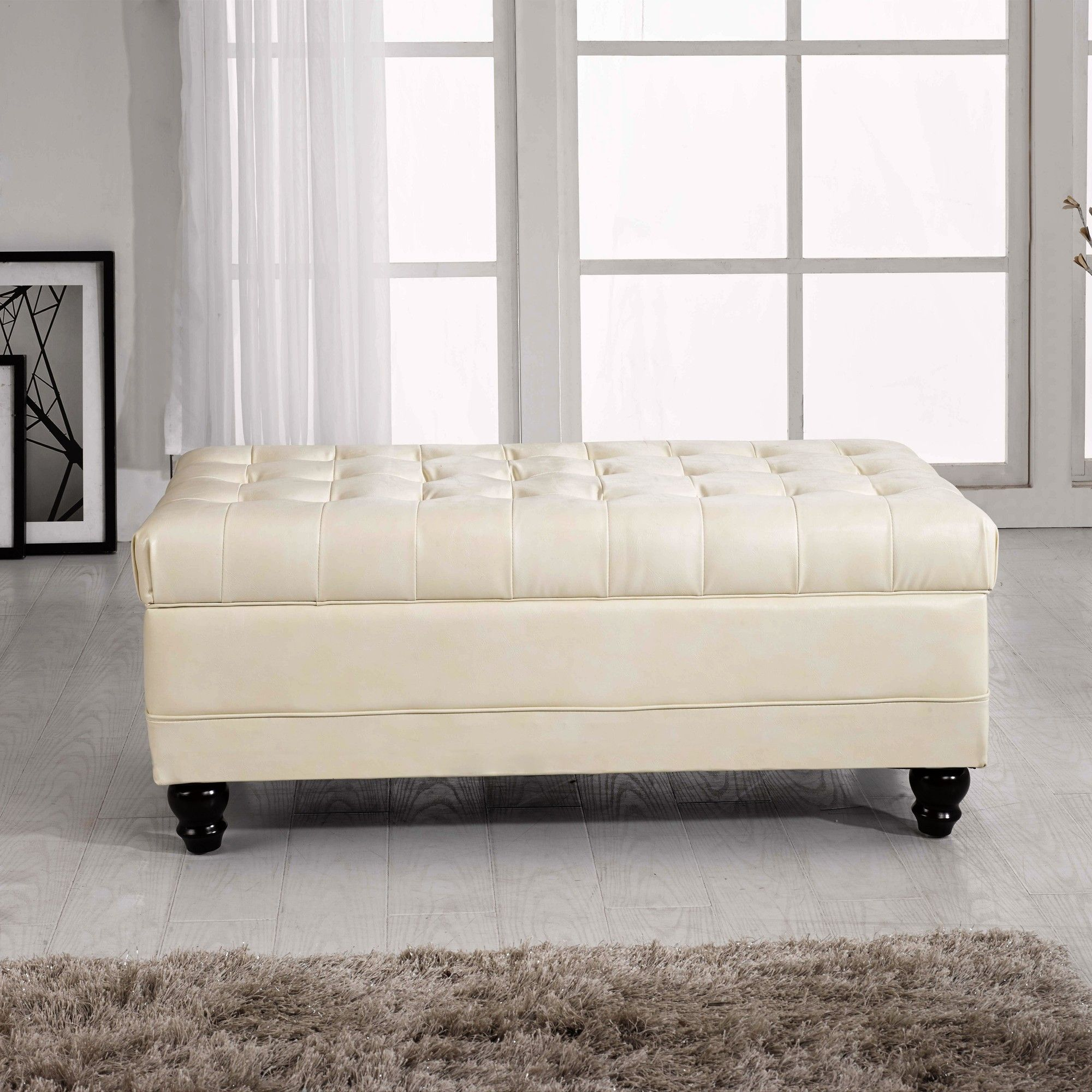 Marvelous Milroy Pouf Storage Ottoman Bench Tufted Storage Bench Pdpeps Interior Chair Design Pdpepsorg