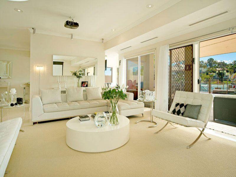 Cream living room idea from a real Australian home - Living Area photo 546220