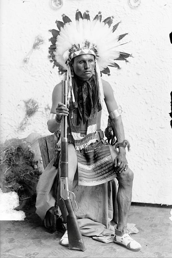 Spotted Hawk. Northern Cheyenne. Montana. 1890.: