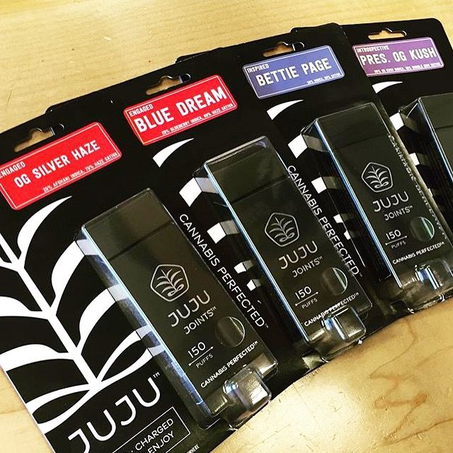 "jujujointsofficial:  "" Brand new package design is on the shelves.  To find a store/dispensary nearest to you click HERE  """