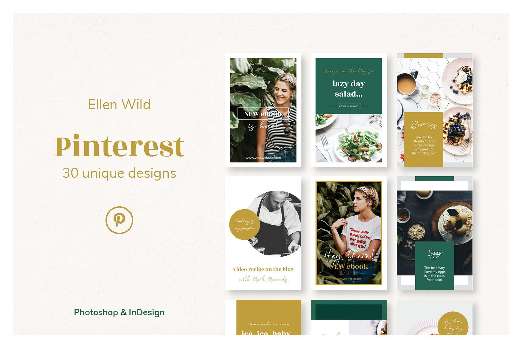Pinterest Posts Ellen Wild Pinterest Templates Pinterest Help Tutorials Photoshop Design