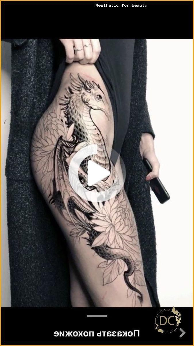 shoulder dragon | Dragon tattoo for women, Chest tattoos
