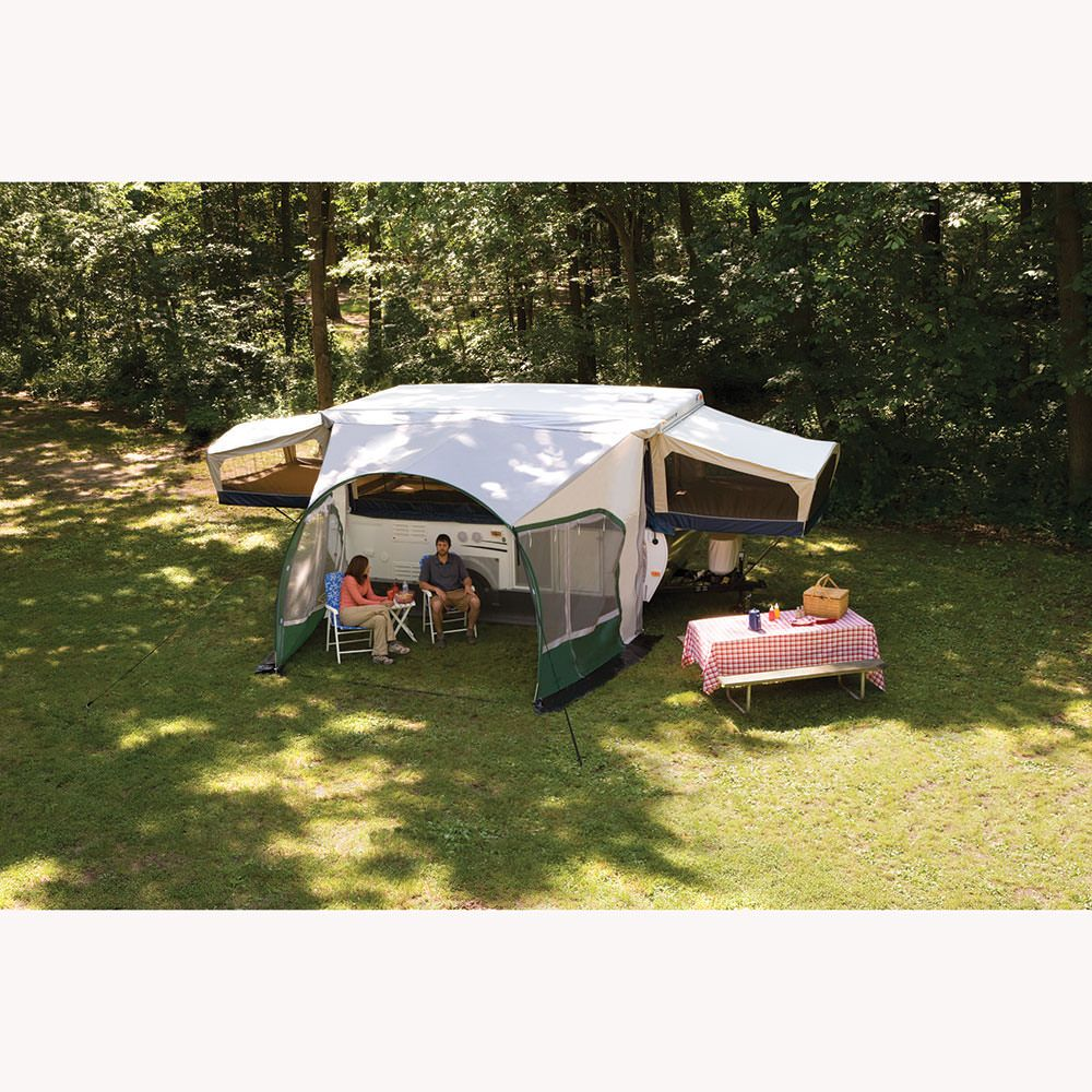 A Lightweight Awning And Screen Room All In One Canopy Outdoor Patio Canopy Backyard Canopy