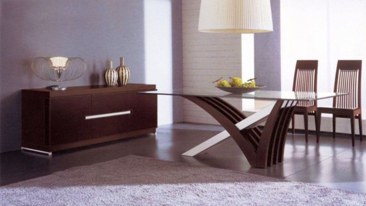 Contemporary Italian Dining Room Furniture  Dining Room Cool Italian Glass Dining Room Tables Inspiration Design