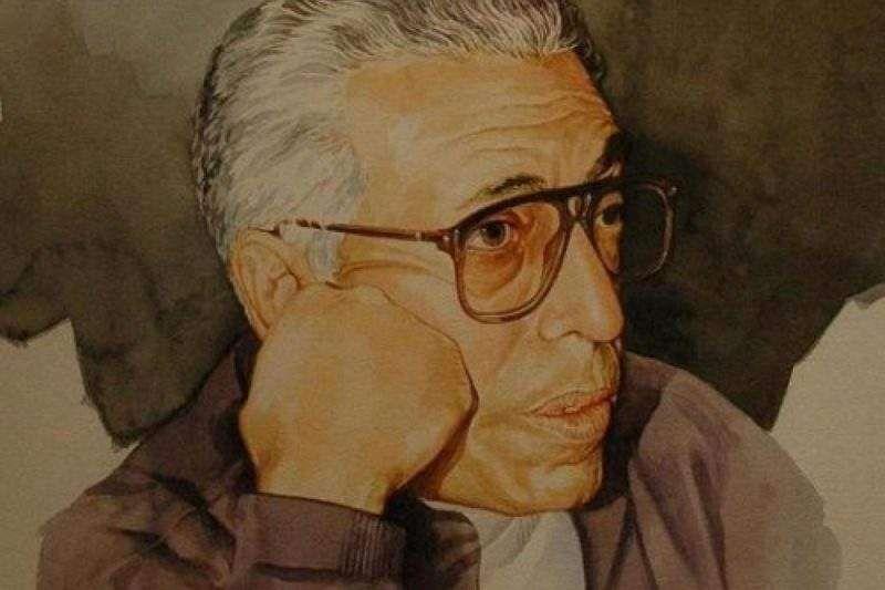 عبد الرحمن منيف أيقونة الرواية العربية في القرن الـ20 Male Sketch Portrait Portrait Tattoo
