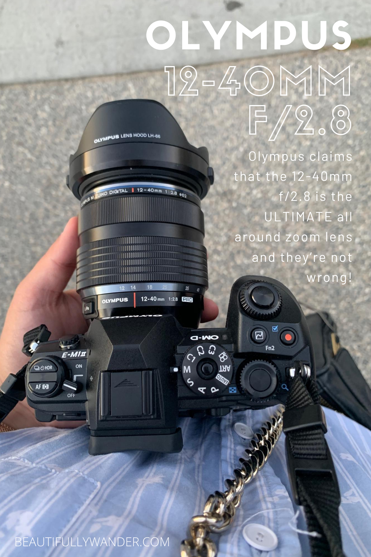 Olympus 12 40mm F 2 8 Pro Awesome Versatile Lens Best Camera Olympus Olympus Camera